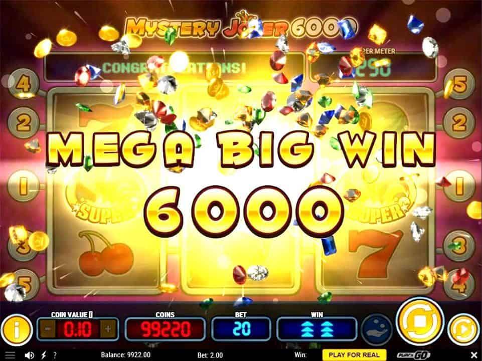 joker slot big win